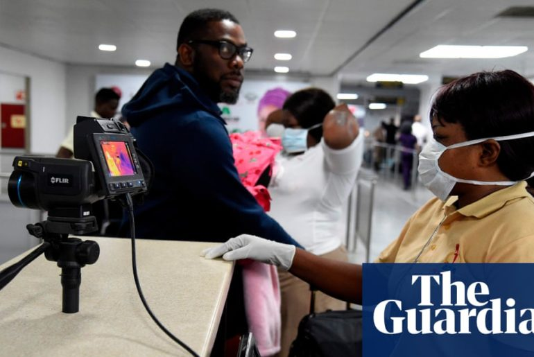 Coronavirus found in sub-Saharan Africa as WHO says spread could 'get out of control'