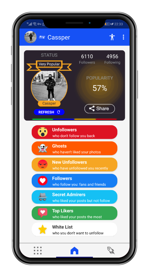 Chief Follow | Best android app for unfollowers on instagram