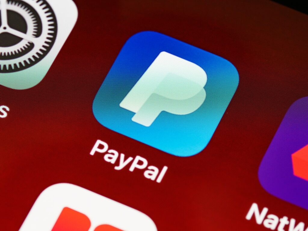 PayPal as a payment system in Nigeria.